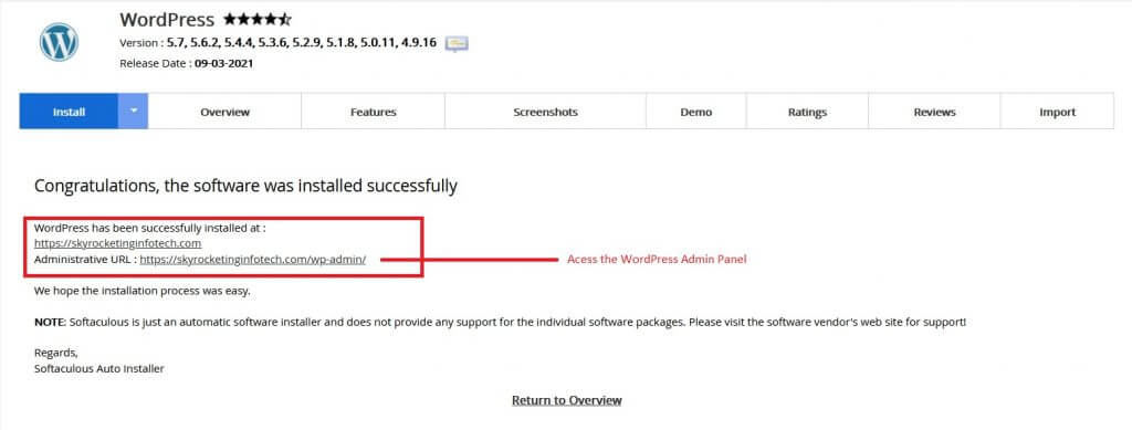 how-to-install-WordPress-using-Softaculous
